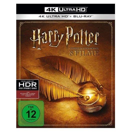 Bild zu Harry Potter Complete Collection (16-Disc Blu-Ray Set) (4K Ultra HD) für 93,95€ (VG: 117,99€)