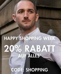 Bild zu [endet heute] Happy Shopping Week bei Seidensticker: 20% Rabatt auf alles im Shop inkl. Sale