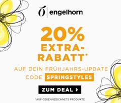 Bild zu Engelhorn: 20% Rabatt auf ausgewählte Frühjahrskleidung