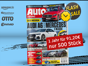Bild zu [Top – nur 500 Stück] Jahresabo Autozeitung für 91,20€ + bis zu 95€ Prämie