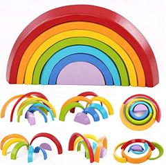 Bild zu [Prime] king do way Regenbogen Lernspielzeug für 9,74€