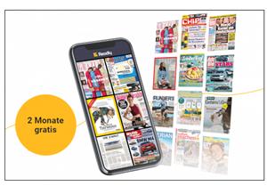 Bild zu 2 Monate das Flatrate Magazin Readly gratis (anstatt 19,98€) für Neukunden
