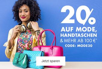 Bild zu Galeria: 20 % auf Mode, Handtaschen & vieles mehr ab einen Einkaufswert von 100€