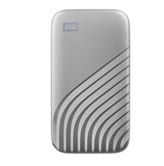 Bild zu WD My Passport 500 GB SSD, 2.5 Zoll, extern in Silber für 69€ (VG: 76,85€)