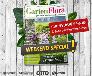 Bild zu [Deutsche Post] GartenFlora Jahresabo für 49,60€ + bis zu 45€ Gutschein