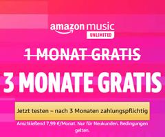 Bild zu Für Neukunden: 3 Monate Amazon Unlimited Music gratis