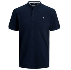 Bild zu Jack & Jones Herren Kurzarm Poloshirt JPRAXEL BLA. MAO Regular Fit für 12,95€ (VG: ab 14,99€)