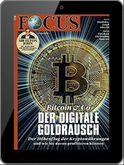 Bild zu digitales Abo vom Focus (52 Ausgaben) für 9,99€ anstatt 207,48€