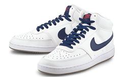 Bild zu Nike Sneaker Court Vision Mid in Weiß für 50,97€ (VG: 63,95€)