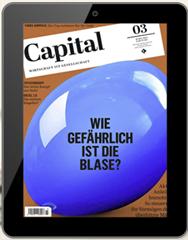 Bild zu Capital E-Paper Jahresabo für 5€ anstatt 80,04€
