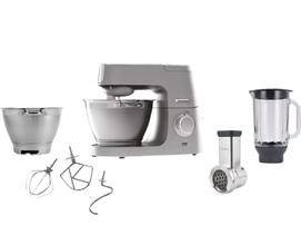 Bild zu KENWOOD KVC 5391 S Chef Elite Küchenmaschine inkl. 6 Zubehörteile (Rührschüsselkapazität: 4,6 Liter, 1200 Watt) für 444€ (Vergleich: 524,85€)