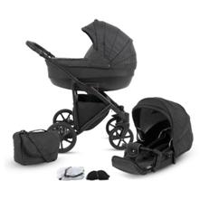 knorr-baby Kombikinderwagen Madeira 11-teiliges Set Schiefer - babymarkt de