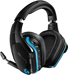 Bild zu Amazon.fr: Logitech G935 Wireless Gaming-Headset (7.1 Surround, DTS Headphone:X 2.0, 50 mm Treiber, Mikrofon mit Flip-Mute, Lightsync RGB) für 101,92€ inkl. Versand (VG: 135,99€)