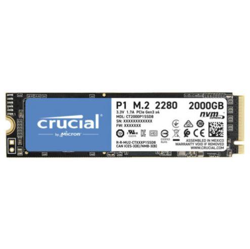 Bild zu CRUCIAL CT2000P1SSD8, 2 TB, M.2 SSD, intern ab 169€ (VG: 199€)