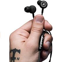 Marshall Mode in-Ear Earphones - Black White Amazon co uk Electronics