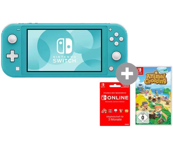 Bild zu NINTENDO Switch Lite Türkis oder Rosa inkl. Animal Crossing + 3 Monate Switch Online ab 189,99€ (VG: 219,99€)