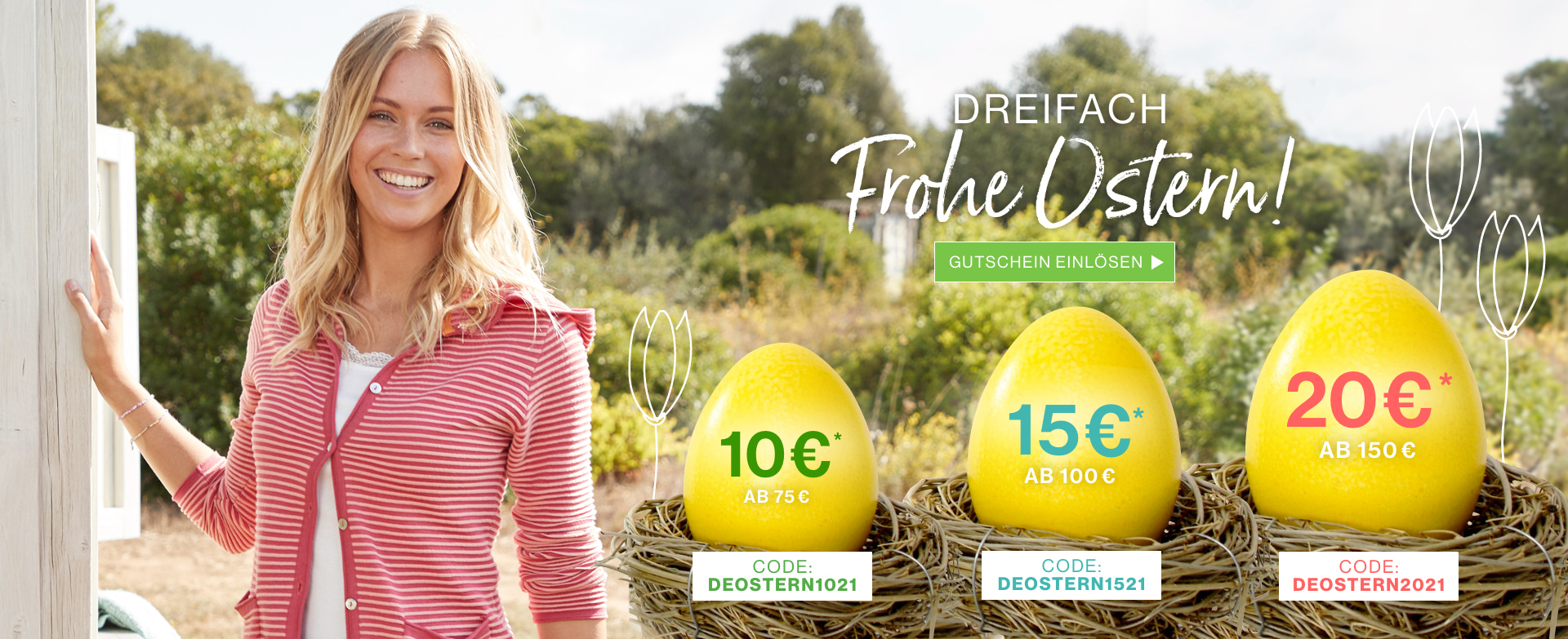 Bild zu Deerberg: Bis zu 20€ Rabatt auf euren Einkauf