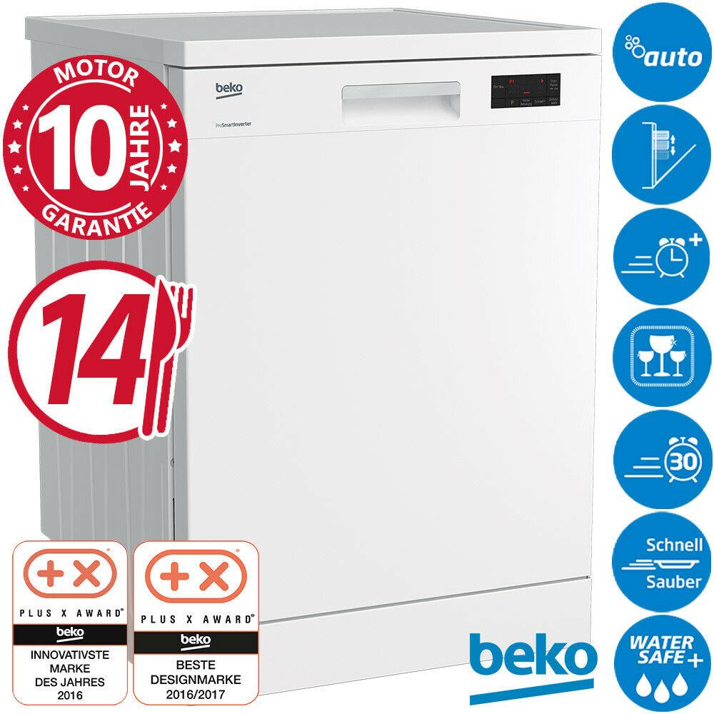 Bild zu Geschirrspülmaschine Beko DFN16430 für 319,99€ (Vergleich: 429€)