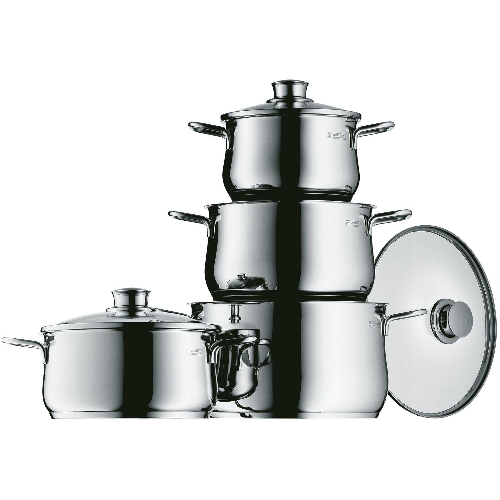 Bild zu 4-teiliges WMF Diadem Plus Kochtopfset für 99,99€ (Vergleich: 129€)