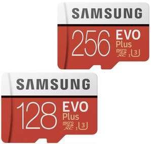 Bild zu Samsung microSDXC EVO Plus (2020) 128GB für 13€ (VG: 14,99€) oder 256GB für 27€ (VG: 29,99€)