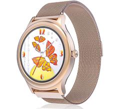 Smartwatch für Frauen, BlitzWolf Voll-Touchscreen Amazon de Elektronik