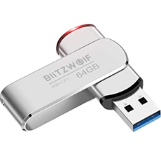 USB Stick, BlitzWolf 64GB USB 3 0 Memory Stick Amazon de Computer Zubehör