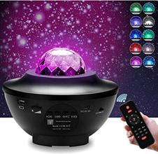 Bild zu VINGO LED Sternenhimmel-Projektor mit Fernbedienung & Lautsprecher  für 24,49€