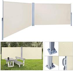 Bild zu wolketon Doppelseitenmarkise (ausziehbar, 180 x 600 cm) für 96,59€