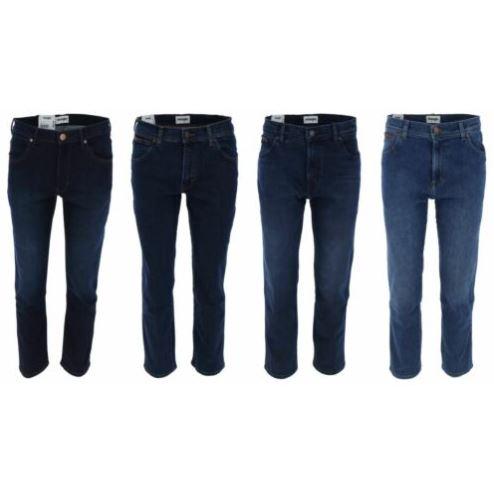 Bild zu WRANGLER Texas Straight Jeans 821 und 807 in 4 Farben für 39,99€ (VG: 55,99€)