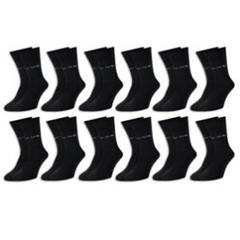 12 Paar Pierre Cardin® Socken Herren Business Sport Freizeit Baumwolle Schwarz eBay
