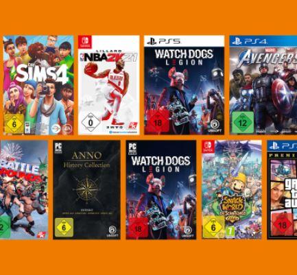 Bild zu Saturn: 3 Spiele für 49€ (PlayStation 4, PlayStation 5, Nintendo Switch, Xbox, PC)