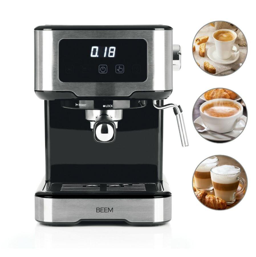 Bild zu Beem Espresso Touch Siebträgermaschine mit Milchschaumdüse für 98,99€ (VG: 119,99€)