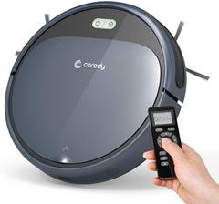 Coredy R300 Saugroboter mit Ladestation und Fernbedienung, 110Min Arbeitszeit, Automatische[...]