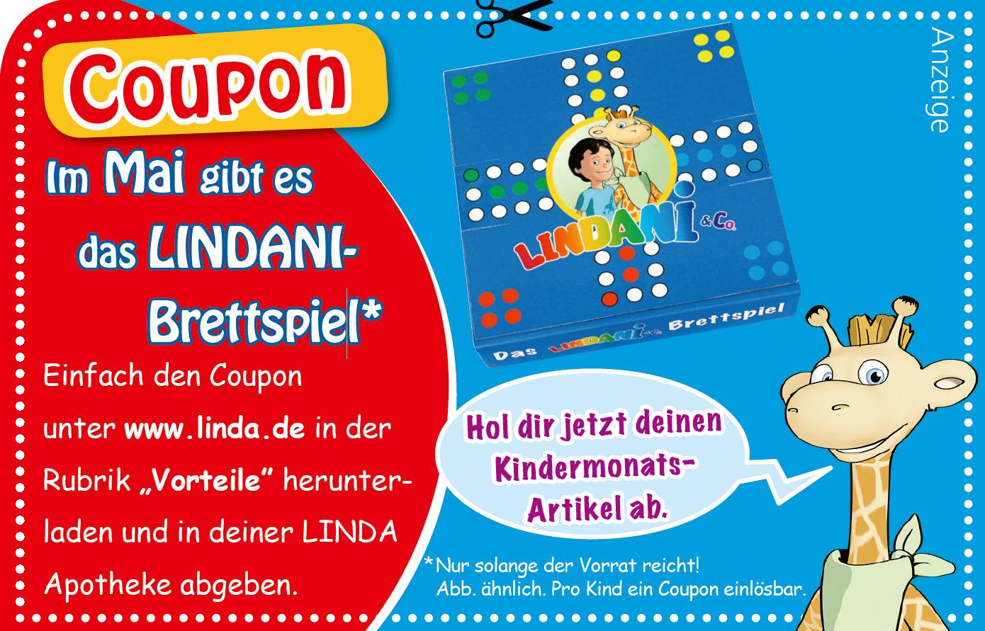 Bild zu Linda Apotheke: Kostenloses Lindani Brettspiel für Kinder