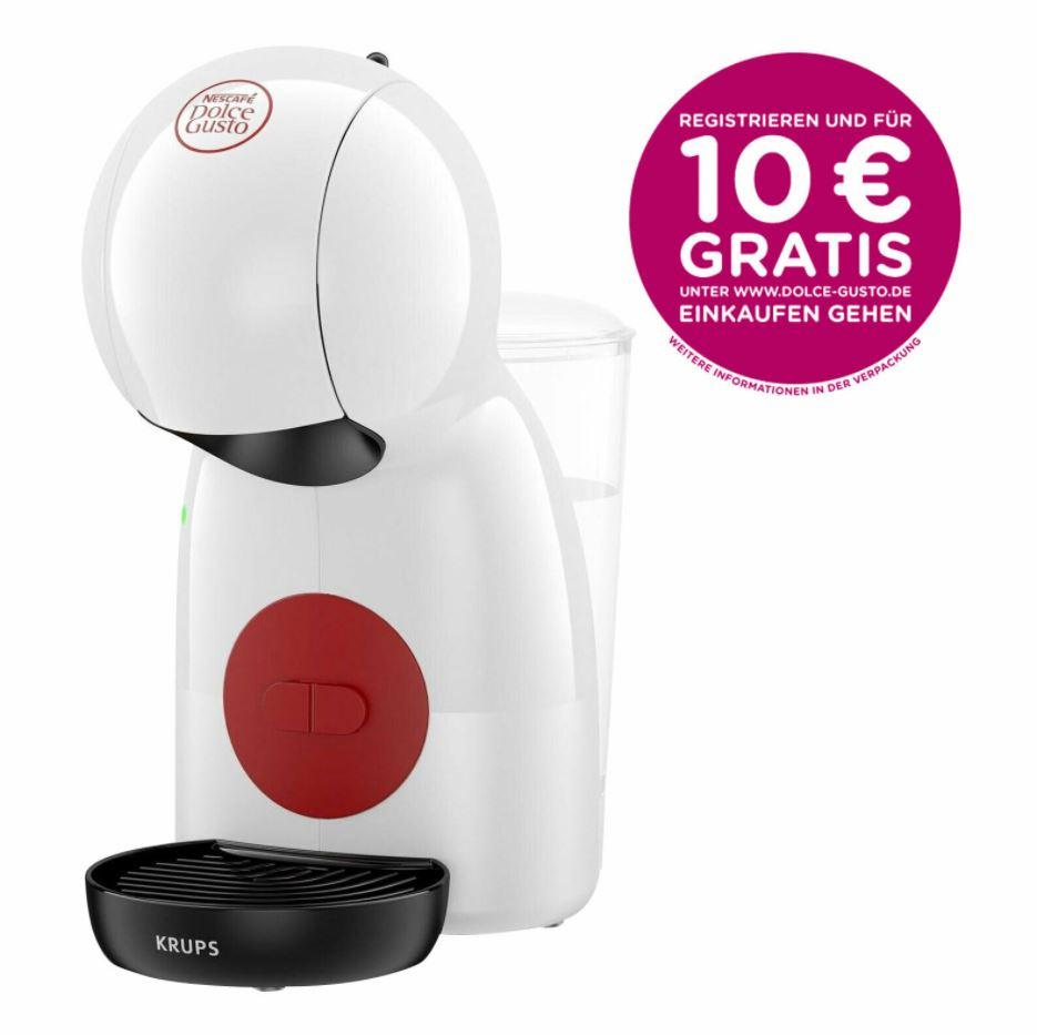 Bild zu Krups Nescafe Dolce Gusto Piccolo XS Kapselmaschine für 26,99€ (VG: 36,99€) + 10€ Kapselgutschein