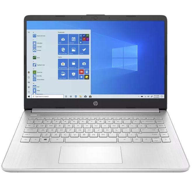 Bild zu HP 14S-FQ1357NG R5 Notebook (14″, Ryzen 5 5500U, 16GB Ram, 512GB SSD, Vega 7 Grafik) für 599€ (VG: 776,99€)