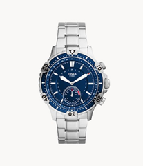 Hybrid Smartwatch Garrett Edelstahl - FTW1310 - Fossil