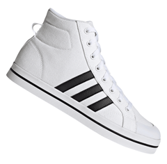 Bild zu adidas Schuh Bravada Mid weiß/schwarz für 39,95€ (VG: 51,82€)