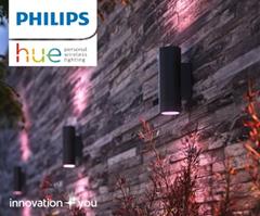 Bild zu ProShop: PHILIPS Hue Outdoor Deals, z.B. Philips Hue Discover Flutlicht + Outdoor Bewegungsmelder für 134,49€ (VG: 172,90€)