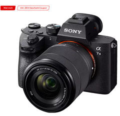 Bild zu SONY Alpha 7 M3 KIT (ILCE-7M3K) Systemkamera mit Objektiv 28-70 mm, 7,6 cm Display Touchscreen, WLAN für 1.989€ + 200€ MediaMarkt Coupon