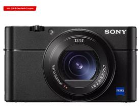 Bild zu SONY Cyber-shot DSC-RX100 VA Zeiss NFC Digitalkamera Schwarz, 2.9x opt. Zoom, Xtra Fine/TFT-LCD, WLAN für 675€ + 100€ MediaMarkt Gutschein