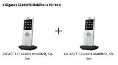 Bild zu [geht noch] GIGASET CL660HX Mobilteil im Doppelpack für 60€ (VG: 99,98€)