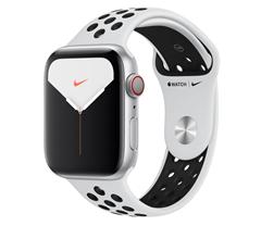 Bild zu APPLE Watch Nike Series 5 (GPS + Cellular) 44mm Smartwatch ab 369€ (VG: 419€)