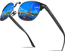KITHDIA Polarisiert Sonnenbrille Herren Damen Aluminium Magnesium Metallrahmen S046 (Blau) Amazon de [...]
