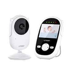 Bild zu Ltteny Überwachungskamera (720P, IPS HD Display, Nachtsicht, Audio, Wecker) für 45,88€