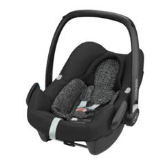MAXI COSI Babyschale Rock Black Grid - babymarkt de