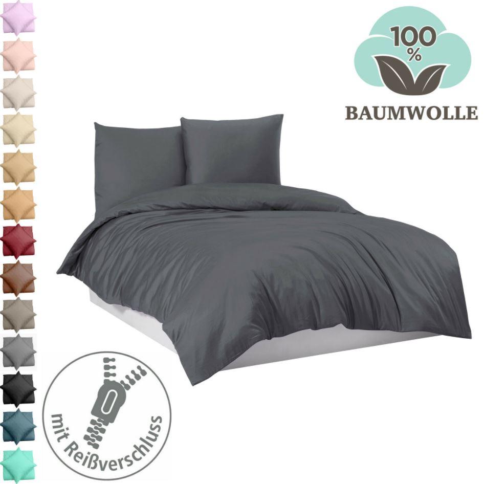 Bild zu Mixibaby Bettwäsche Set: 1x Kopfkissen + 1x Bettdecke in 3 Größen (21 Farben) ab 11,99€ (VG: ab 20,99€)