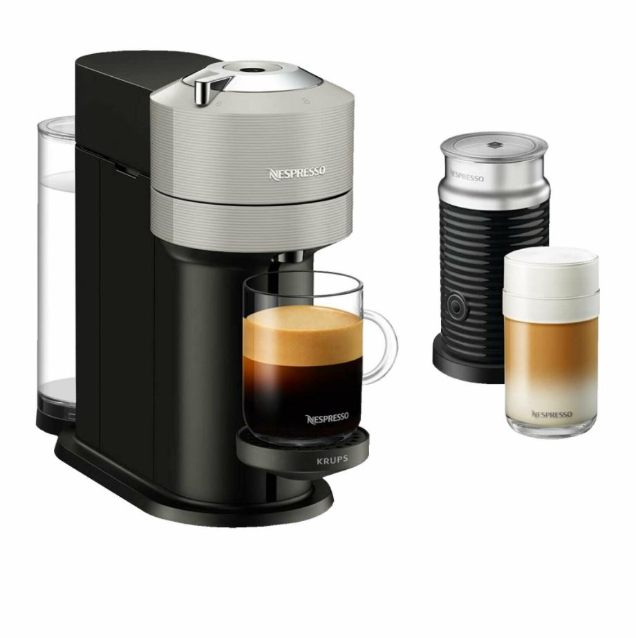 Bild zu Krups XN 910B Nespresso Vertuo Next Kapselmaschine + den Nespresso Aeroccino 3 Milchaufschäumer für 62,91€ (VG: 120,50€)
