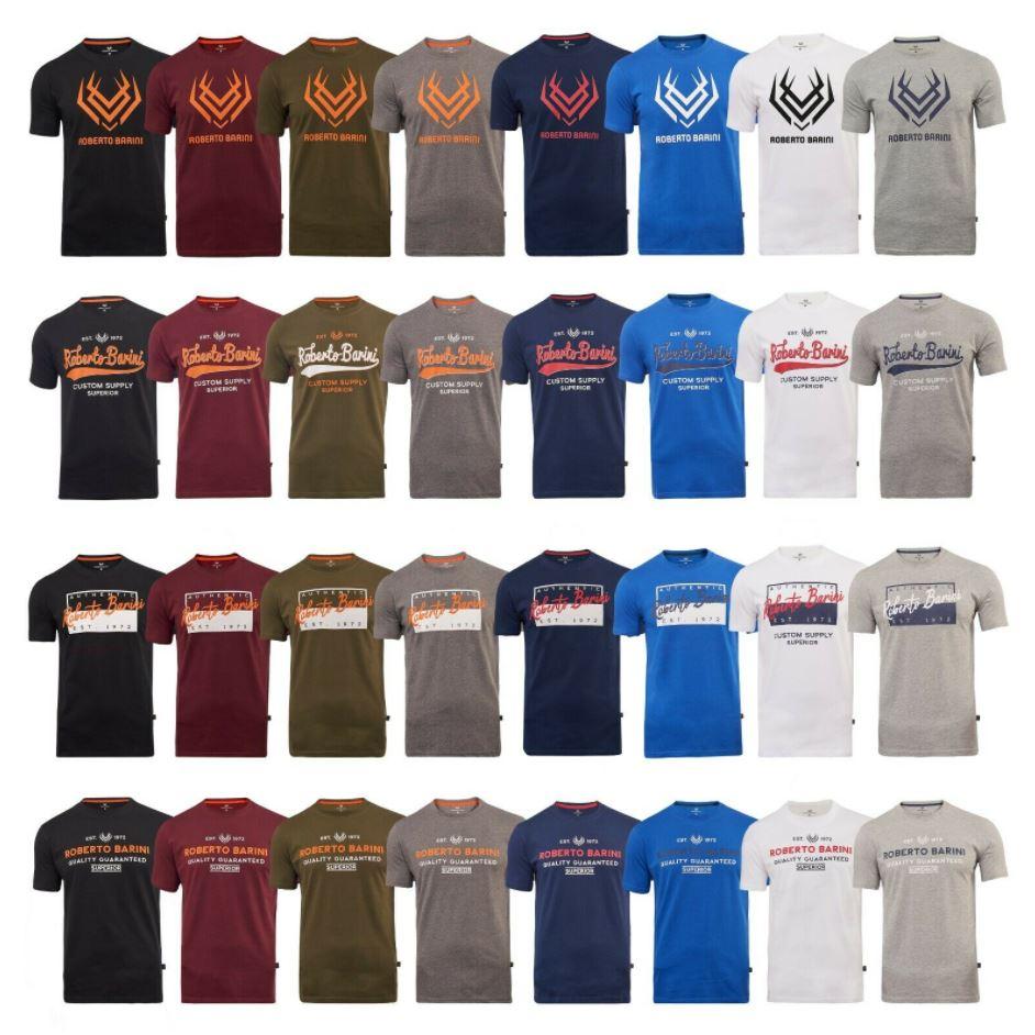 Bild zu Roberto Barini Herren T-Shirts mit Logo Print (Gr.: M – 2XL) für je 9,99€ (VG: 14,99€)