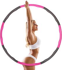 Tatopa Hula Hoop Hula Hoop Reifen für Gewichtsreduktion und Massage zu Hause und im Büro 8 Segmente A[...]